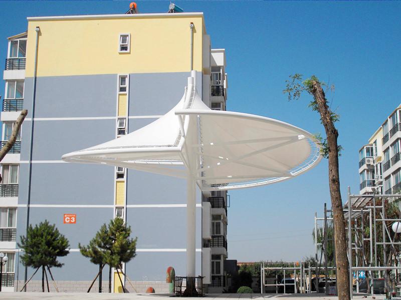 大型膜结构膜伞 型号JY-100MS